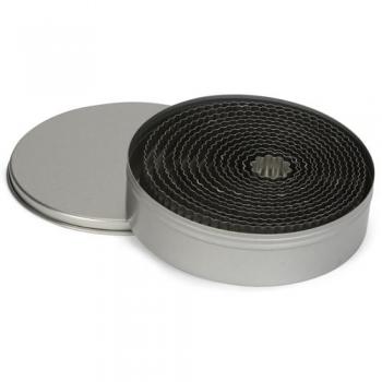 Metalllõikurte komplekt lainelised ringid 14tk