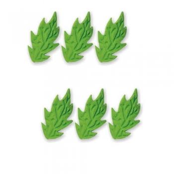 Suhkrudekoor lehed  rohelised 20tk