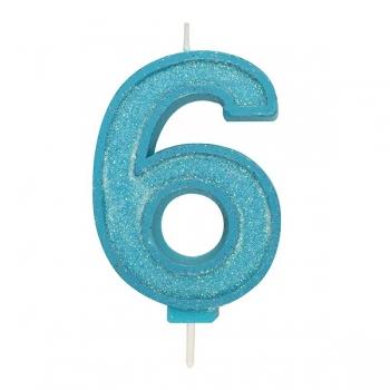 Tordiküünal nr 6 Sinine sädelusega
