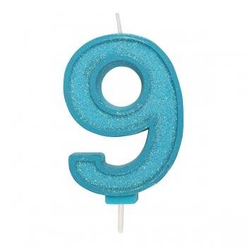 Tordiküünal nr 9 Sinine sädelusega