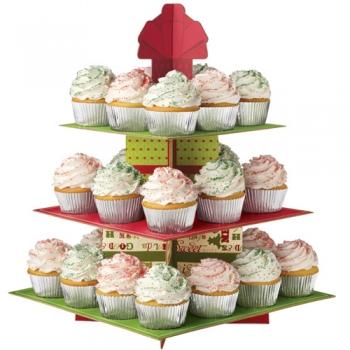 Muffinialus papist Jõulud 24 minimuffinile