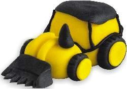 Suhkrudekoor Traktor Kollane