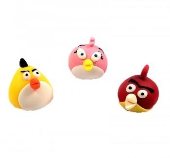 Suhkrudekoor Angry Birds 3tk