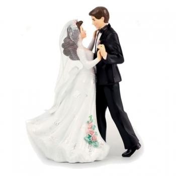 Pulmakuju plastist Tantsiv pruutpaar