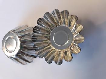 Küpsetusvorm metallist 5tk