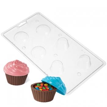 Šokolaadivorm plastikust Muffinid
