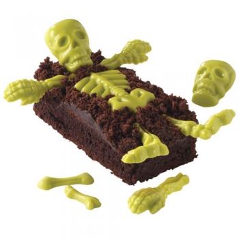 Šokolaadivorm plastikust Skelett