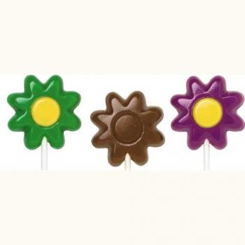 Šokolaadivorm plastikust pulgakoogile Lilled