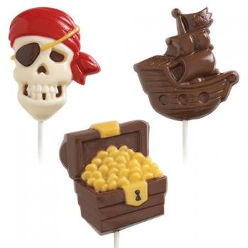 Šokolaadivorm plastikust Piraat