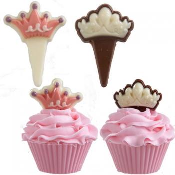 Šokolaadivorm plastikust Printsessi kroonid