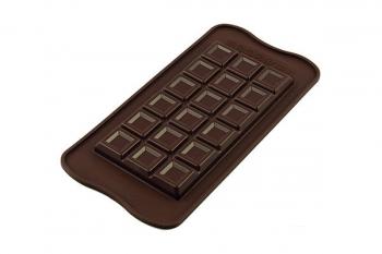 Šokolaaditahvlivorm silikoonist