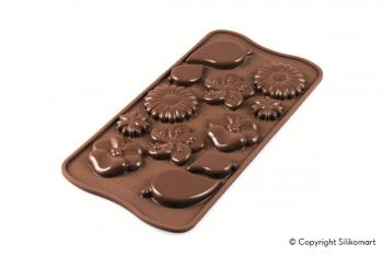 Šokolaadivorm silikoonist Garden