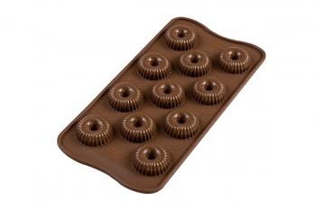 3D Kommivorm Choco Crown