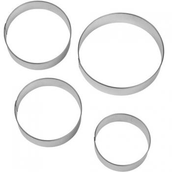 Metalllõikurite komplekt Ringid 4tk