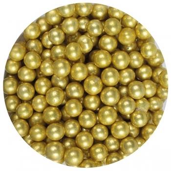 Suhkrupärlid kuldsed 50g