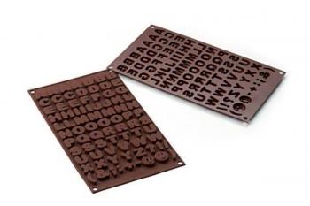 Šokolaadivorm Tähed silikoonist