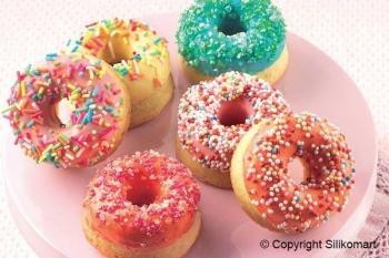 Küpsetusvorm silikoonist  Small Donuts