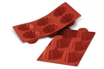 Silikoonvorm Canellate 6tk