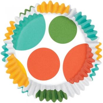 Muffinivormid Värvilised suured ringid 36tk