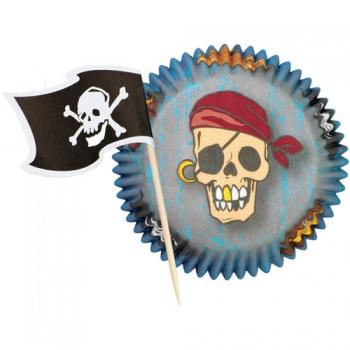 Piraat muffinivormide komplekt 24tk