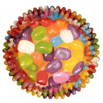Muffinivormid Värvilised kommid 36tk