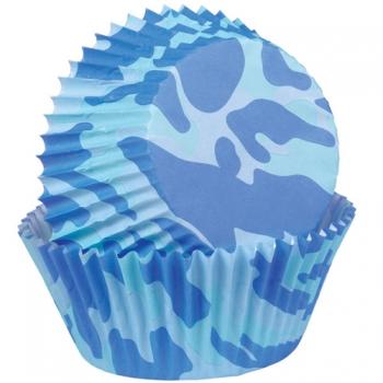 Militaarsed sinised muffinivormid 75tk