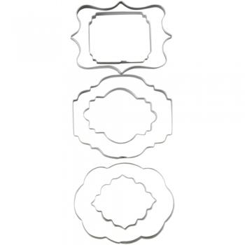 Metalllõikurite komplekt tahvlid  6 osa