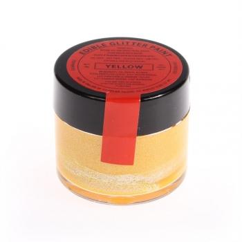 Kollane (Yellow) metallik vedelikuna toiduvärv 20g
