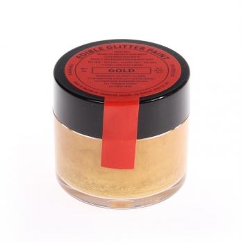 Kuldne (Gold) metallik vedelikuna toiduvärv 8g