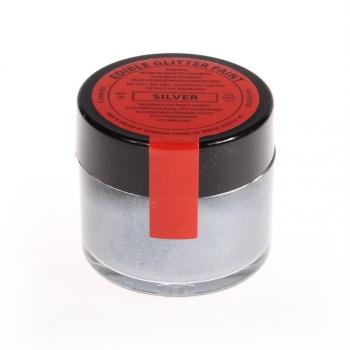 Hõbe (Silver) metallik vedelikuna toiduvärv 20g