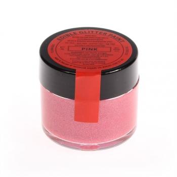 Roosa (Pink) metallik vedelikuna toiduvärv 20g