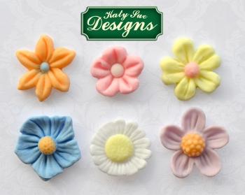 Silikoonvorm Lilled erinevad