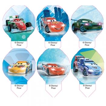 Vahvlipildid Disney Cars mini 12tk