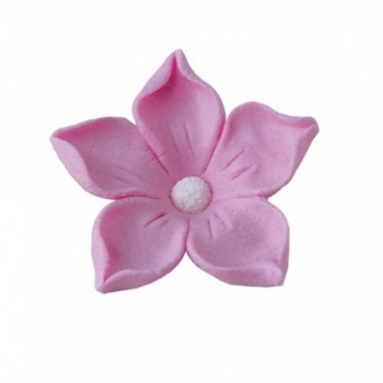 Suhkrudekoor Jasmiin roosa 5tk