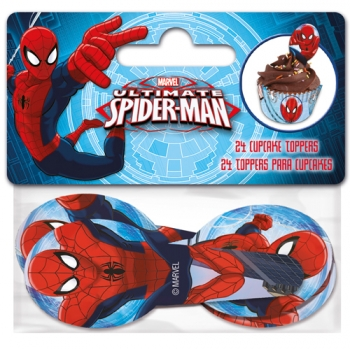 Muffinikaunistus  Spiderman 24tk