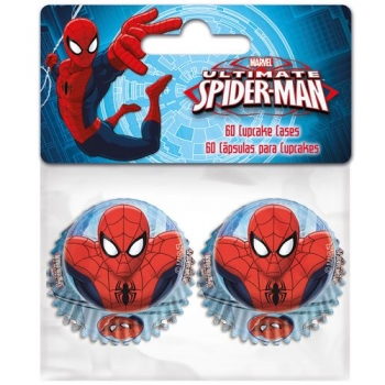Muffinipaber Spiderman mini 60tk