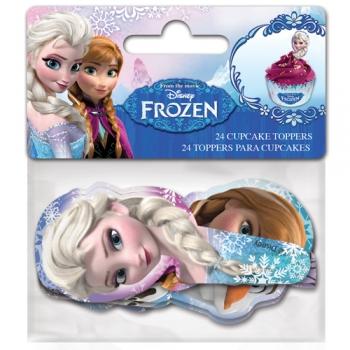 Muffinikaunistus  Frozen 24tk