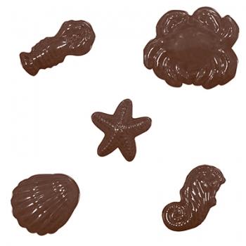 Šokolaadivorm plastikust Mereloomad
