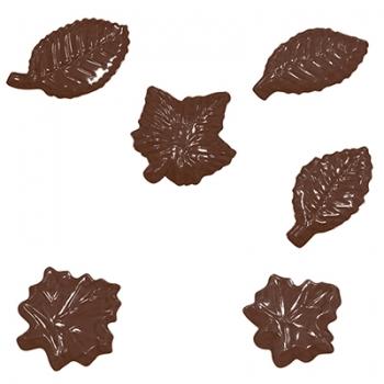 Šokolaadivorm plastikust Lehed
