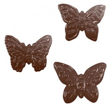 Šokolaadivorm plastikust Liblikad