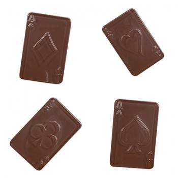 Šokolaadivorm plastikust Kaardid