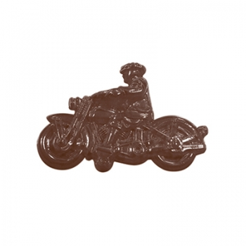 Šokolaadivorm plastikust Mootorratas