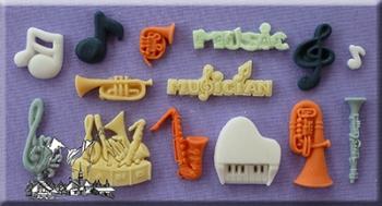 Silikoonvorm Muusika