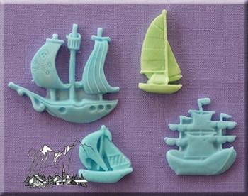 Silikoonvorm Laevad