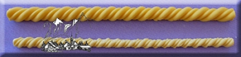 Silikoonvorm Nöör keerutatud topeltrida
