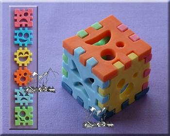 Silikoonvorm 3D Cube