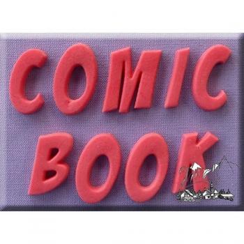 Silikoonvorm Tähestik Comic Book