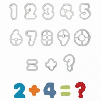 Plastlõikurite komplekt Numbrid 13tk