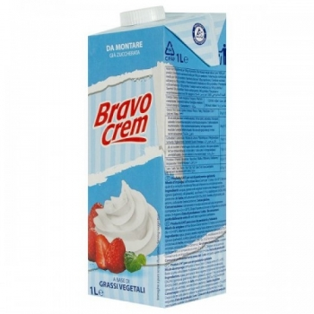 Taimne Vahukreem suhkruga Bravo Cream 1L