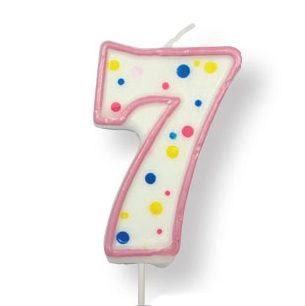 Küünal NR 7 roosa